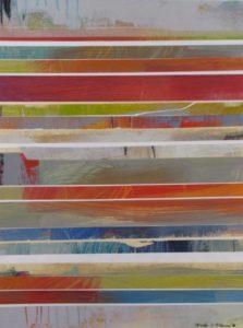 IMG 4264 18x24 Stripes on Paper Ursula J Brenner