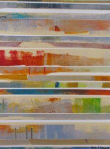 IMG 4269 18x24 Stripes on Paper Ursula J Brenner