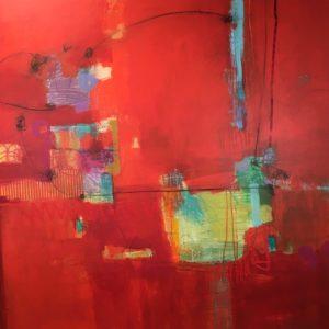 Image 1858 48x48 Canvas Ursula J Brenner
