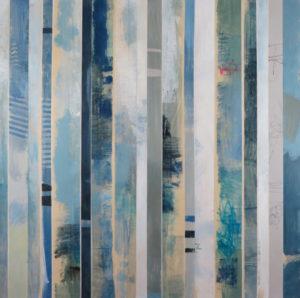 Image 4922 30x30 Stripes Canvas Ursula J Brenner
