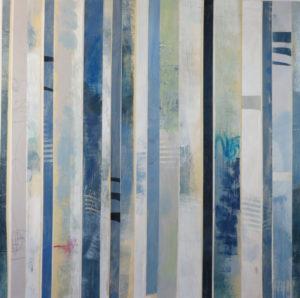 Image 4923 30x30 Stripes Canvas Ursula J Brenner