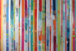 Image 4944 40x60 Canvas stripes Ursula J Brenner