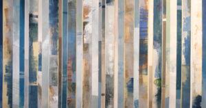 Image 4994 32x60 Canvas Stripes Ursula J Brenner