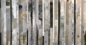 Image 5002 32x60 Canvas Stripes Ursula J Brenner