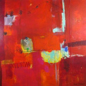 Ursula J Brenner Artwork Canvas IMG 3963 48X48 Canvas Ursula J Brenner